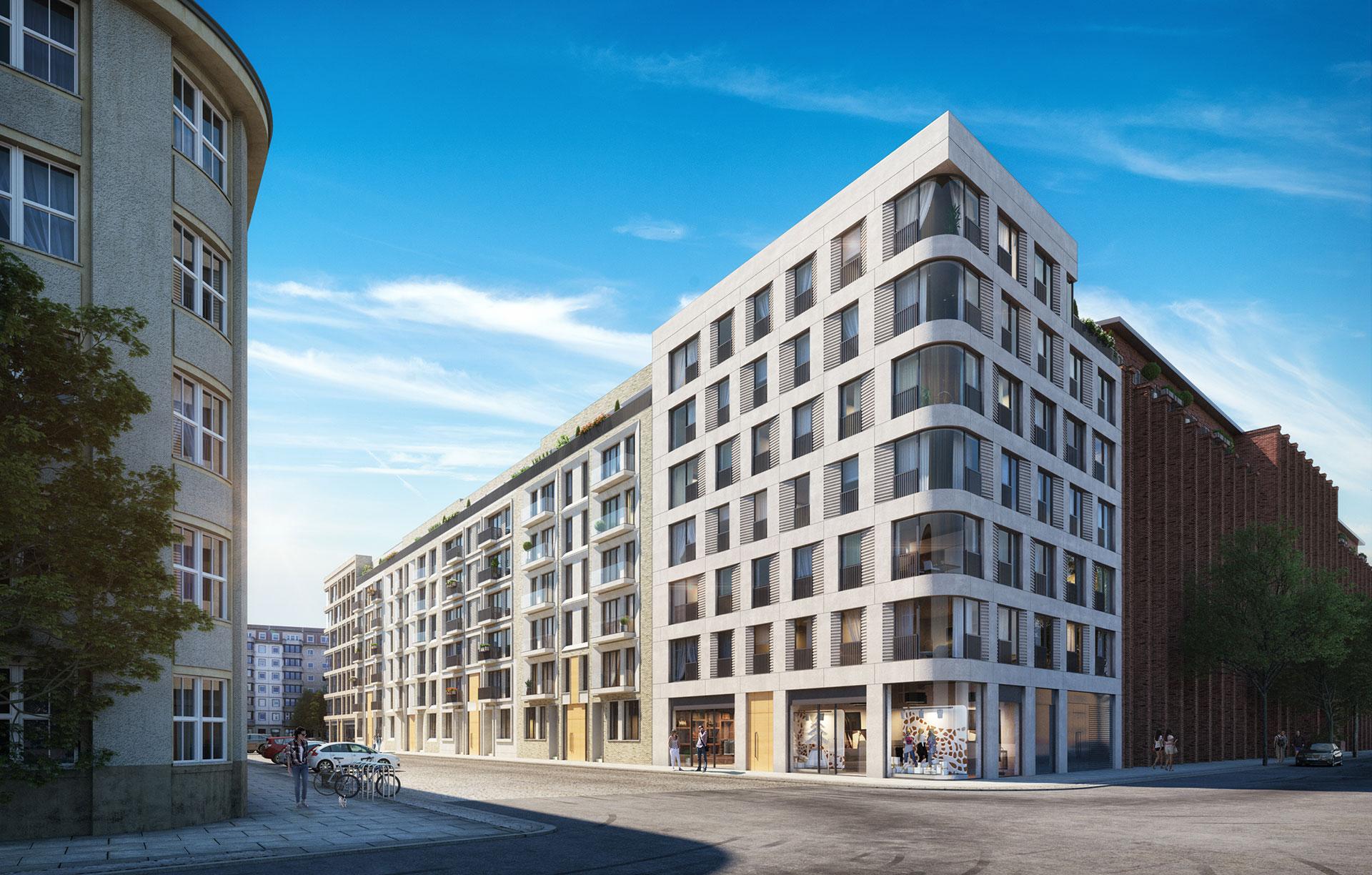 Трехкомнатная квартира в Берлине район Pankow